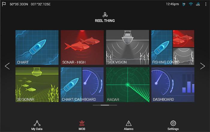 LightHouse 3 - typowy ekran